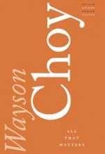 Wayson Choy book cover image