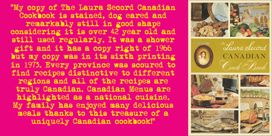 x Laura Secord Can Cookbook